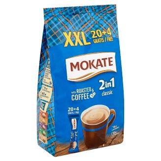 Mokate 2 in 1 Classic azonnal oldódó kávéspecialitás 24 x 14 g