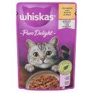 Whiskas 1+ Casserole teljes értékű állateledel felnőtt macskák számára csirkével aszpikban 85 g