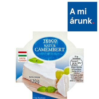 Tesco Unflavoured Camembert 120 g