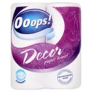 Ooops! Decor Paper Towel 2 Ply 2 Rolls