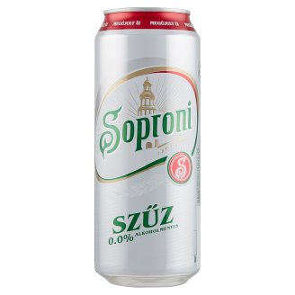 Soproni Szűz Non-Alcoholic Lager Beer 0,5 l
