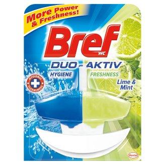 Bref Duo Aktiv Lime&Mint Toilet Block 50 ml