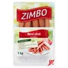 Zimbo Pork Frankfurters 1000 g