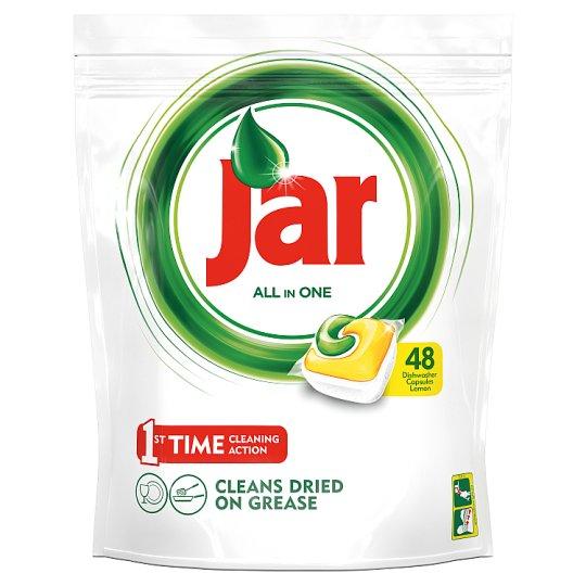 Jar All In One Dishwasher Tablets Lemon 48 per Pack