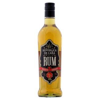 República de Caña Black rum 38% 700 ml