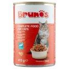 Brunos teljes értékű állateledel felnőtt macskák számára falatok hallal szószban 415 g