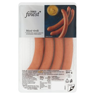 Tesco Finest Bécsi Long Sausage 230 g