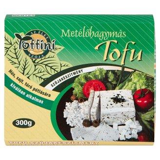 Toffini Tofu metélőhagymás szójakészítmény 300 g