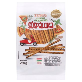 Tesco Salted Sticks with Italian Seasoning 250 g