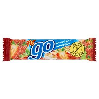 Go gluténmentes eperízű müzliszelet joghurtos bevonattal 23 g