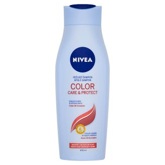 NIVEA Color Care & Protect ápoló sampon festett vagy melírozott hajra 400 ml