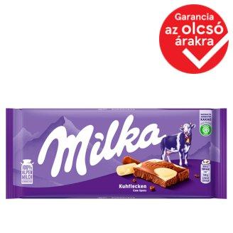 Milka Happy Cow alpesi tejcsokoládé és fehércsokoládé 100 g