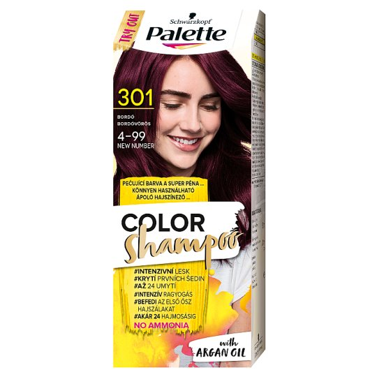 Schwarzkopf Palette Color Shampoo Hair Colorant 4-99 Red Violet (301)