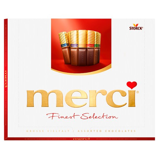 Merci Finest Selection 8 Chocolate Speciality 250 g