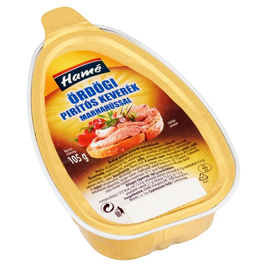 Hamé Ördögi Hot Toast Mix with Beef 105 g