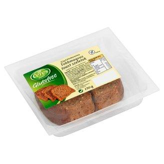 Ceres Sütő Glutafree gluténmentes többmagvas toast szeletek 170 g