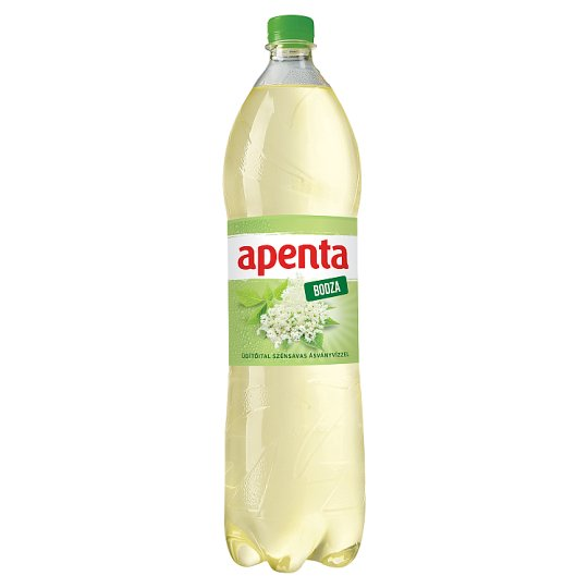 Apenta Elderflower Flavoured Carbonated Soft Drink with Natural Mineral Water 1,5 l