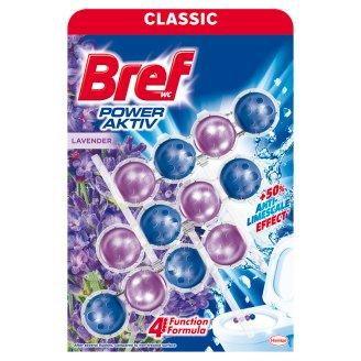 Bref Power Aktiv Lavender toalett frissítő levendula illattal 3 x 50 g