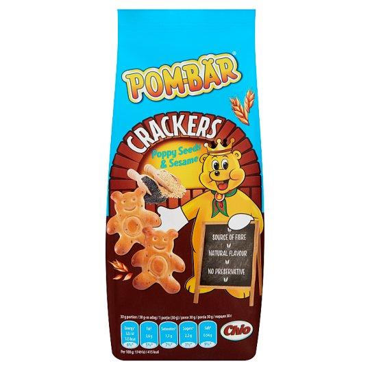 Pom-Bär Crackers mákos-szezámmagos kréker 90 g