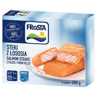 FRoSTA Quick-Frozen Salmon Steaks 200 g