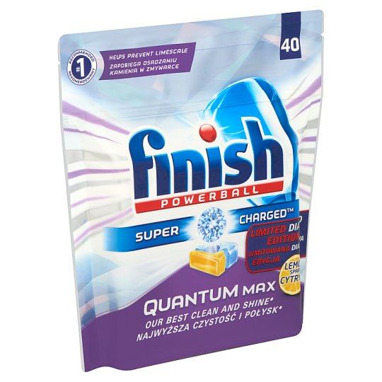 Finish Quantum Max Diamond Powerball Dishwasher Tablets 40 pcs