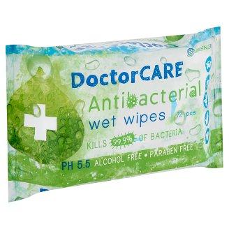 DoctorCare antibakteriális nedves törlőkendő 72 db