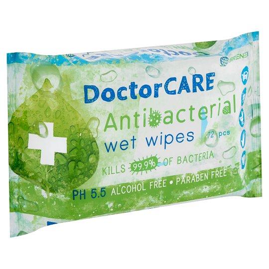 DoctorCare Antibacterial Wet Wipes 72 pcs