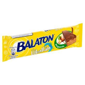 Balaton Újhullám tejcsokoládéval mártott, mogyorós krémmel töltött ostya 33 g