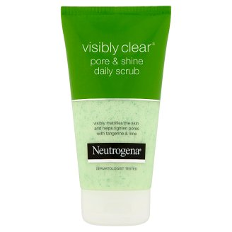 Neutrogena Visibly Clear Pore & Shine bőrradír napi használatra 150 ml