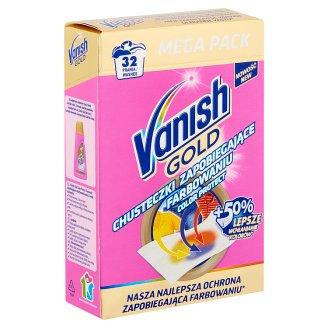 Vanish Gold Color Protection Kerchiefs 32 Washes 16 pcs