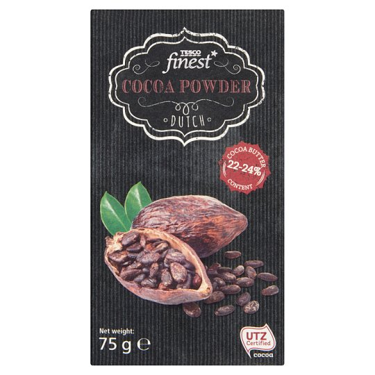 Tesco Finest Dutch Cocoa Powder 75 g