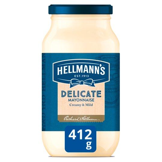 Hellmann's Delicate Mayonnaise 412 g