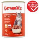 Brunos Complete Food for Cats Bites with Poultry and Beef in Sauce 415 g