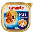 Brunos Paté with Poultry Complete Pet Food for Adult Dogs 300 g