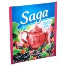 Saga feketeribizli ízű gyümölcstea 20 filter