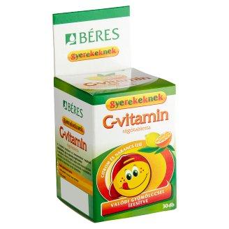 Béres Egészségtár C-vitamin rágótabletta gyerekeknek 30 db 16,2 g