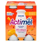 Danone Actimel Low-Fat Mango-Curcuma-Goji Berry Flavoured Yoghurt Drink with Live Culture 4 x 100 g