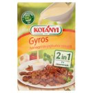 Kotányi 2 in 1 Gyros Condiment with Garlic-Yoghurt Flavoured Sauce Condiment 37 g