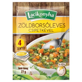 Lacikonyha Green Peas Soup with Dumpling 77 g