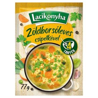 Lacikonyha zöldborsóleves csipetkével 77 g
