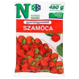 Quick-Frozen Strawberries 450 g