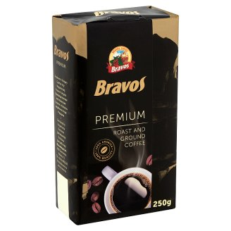 Bravos Premium Roast and Ground Coffee 250 g