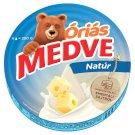 Medve natúr, kenhető, zsíros, ömlesztett sajt 8 db 200 g