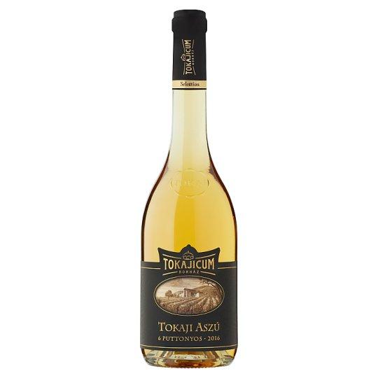 Tokajicum Tokaji Aszú 6 Puttonyos Sweet White Wine Specialty 10,5% 0,5 l