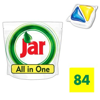 Jar All In One Dishwasher Tablets Lemon 84 per Pack