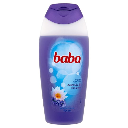 Baba Lavender and Water Lily Shower Gel 400 ml