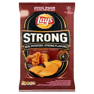 Lay's Strong burgonyachips csípős húsos jellegű ízesítéssel 70 g