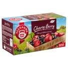 Teekanne World of Fruits Cherry Berry cseresznye-fekete ribizli gyümölcstea keverék 20 filter 45 g