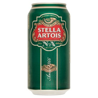 Stella Artois Non-Alcoholic Lager Beer 0,5% 0,4 l