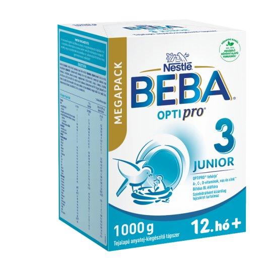 Beba Pro Junior 1 tejalapú anyatej-kiegészítő tápszer 12. hónaptól 1000 g